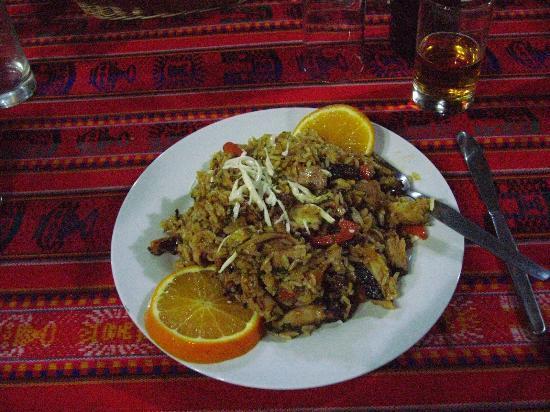 Hotel Puerto Inka: Dinner