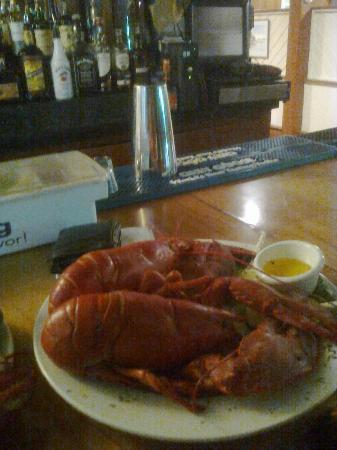 Trade Winds Inn: twin lobsters ,enough said ~!