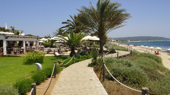 Walkway beach fotograf a de gecko beach club migjorn - Hotel gecko beach club formentera ...
