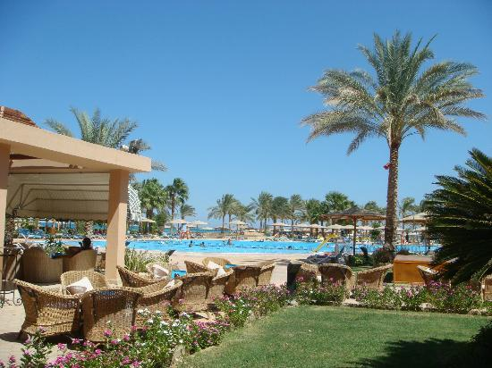 InterContinental Hotel Hurghada: Pool area