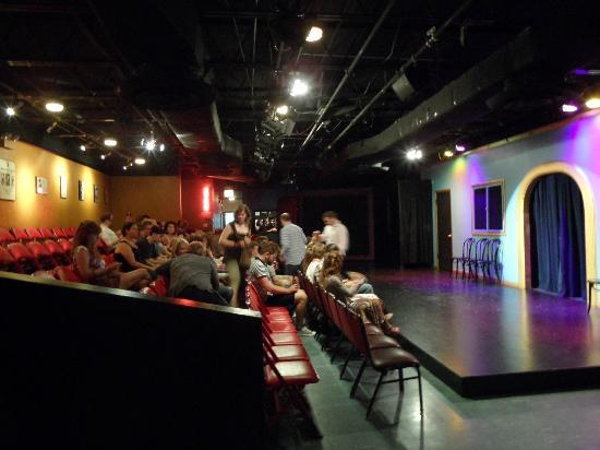 The iO Theater: stage and seating