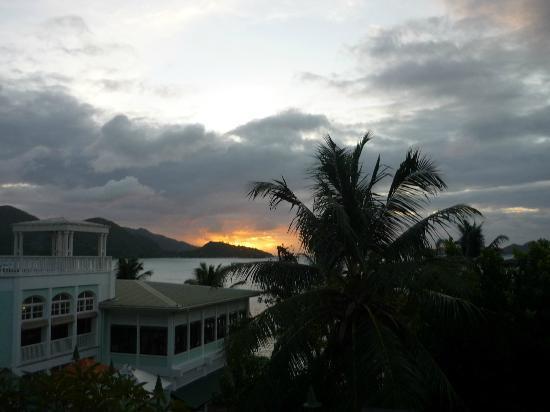Hotel L'Archipel: vue de la chambre