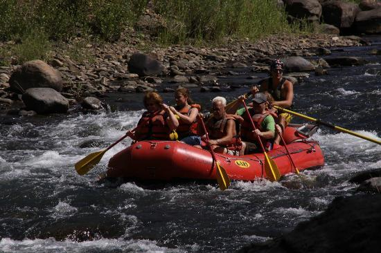 Durango Rafting Company: The kids had a blast.