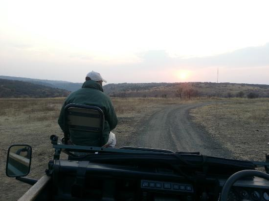 Nambiti Hills Private Game Lodge: Out at sunrise
