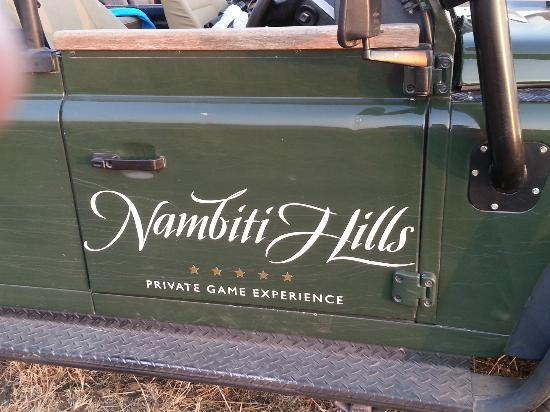 Nambiti Hills Private Game Lodge: The Land Rover