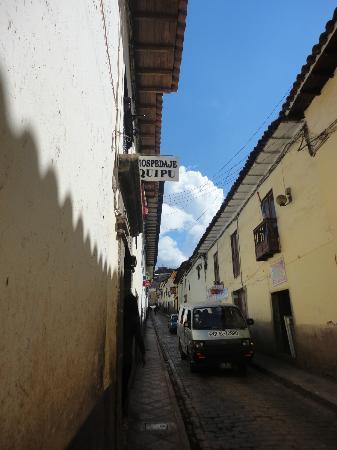 Hostal Quipu Cusco: Entrada