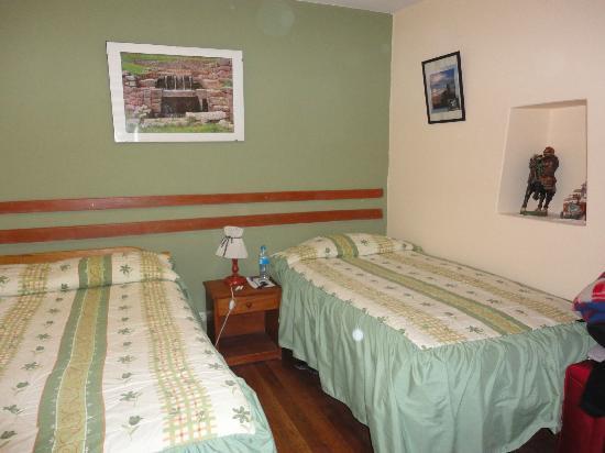 Hostal Quipu Cusco: La habitación doble
