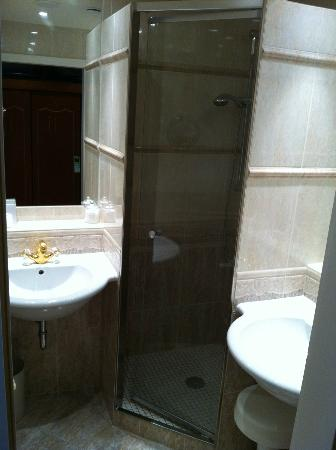 Mokni's Palais Hotel & Spa: Badezimmer mit Dusche
