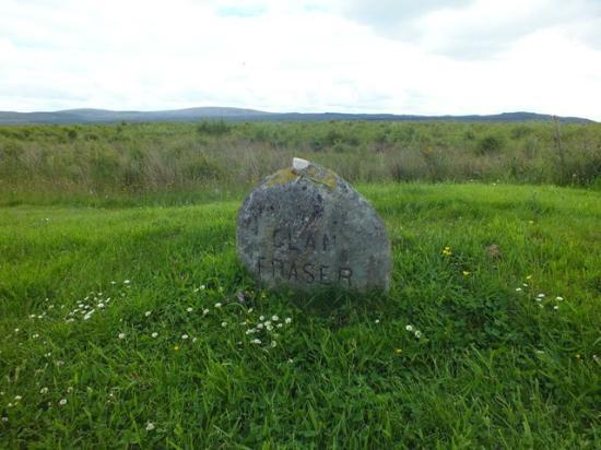 Culloden Moor, UK : Gedenkstein