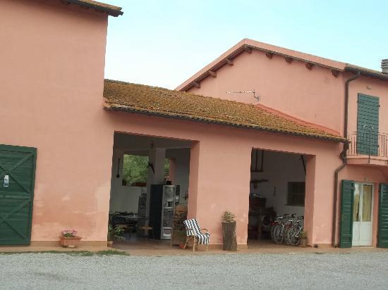 Monte Argentario, Italia: Esterno appartamento