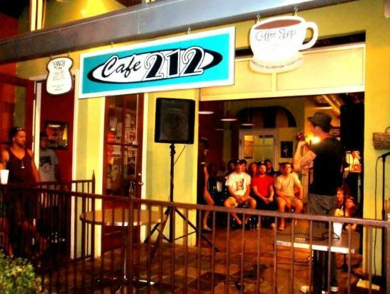 Music night at Cafe 212