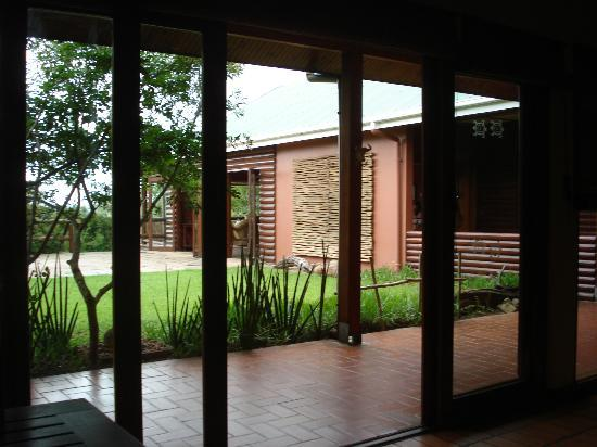 Hluhluwe River Lodge: View from dining room