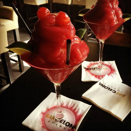 BarCelona Lounge: Frozen Raspberry Daiquiri