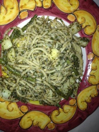 Osteria San Maurizio : Spaghetti al pesto