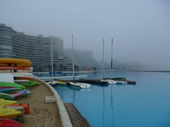 San Alfonso del Mar : View of pool and apartments
