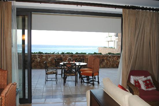 جراند سولمار لاندز إند ريزورت آند سبا: Patio view from living area...open feeling! 