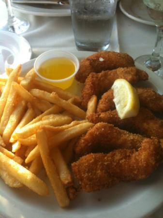 Howard's Seafood Restaurant: French fried lobster