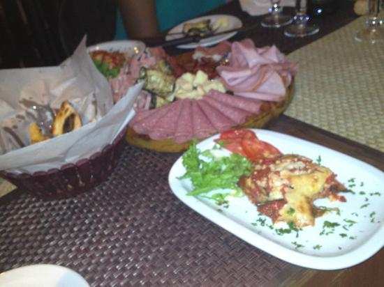 Ciao Pizza: Antipasti_thought I was back in Italy