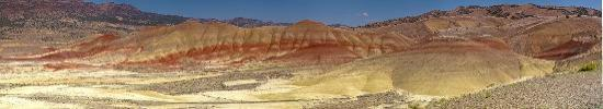 John Day Fossil Beds National Monument: 23 shot Panorama (Made 8' Print)