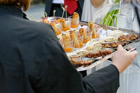 LeCrans Hotel & Spa : De beaux apéritifs préparés par le chef !