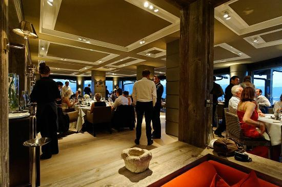 LeCrans Hotel & Spa : Salle à manger