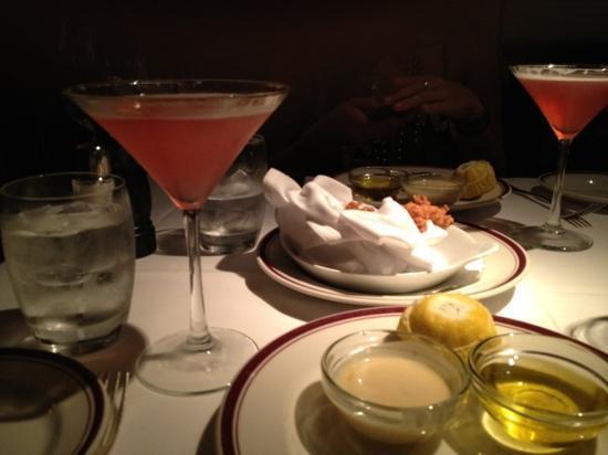 Chops Lobster Bar : lobster morsels & martinis