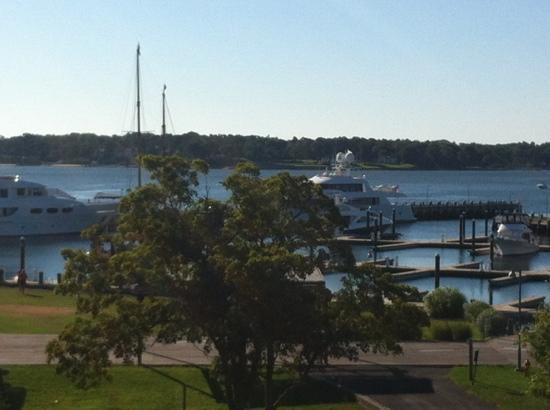 Harborfront Inn at Greenport: view from balcony