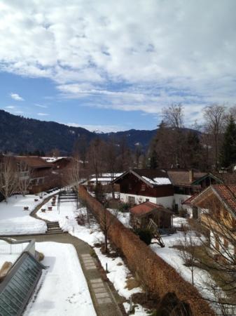 Althoff Seehotel Üeberfahrt: Ausblick vom Balkon