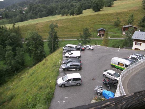 Hotel Chalet du Crey: parking