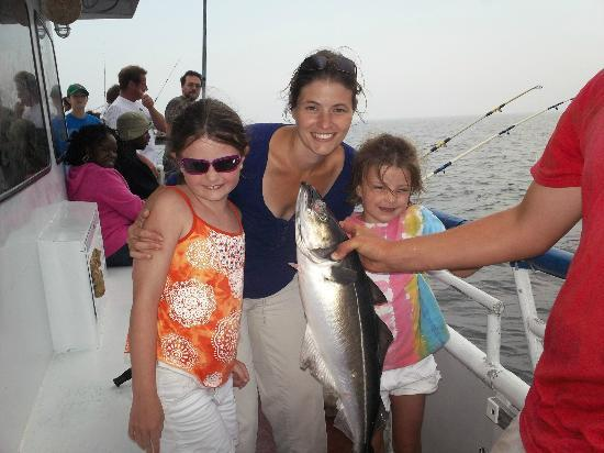 Yankee Fleet: Our first catch of the day