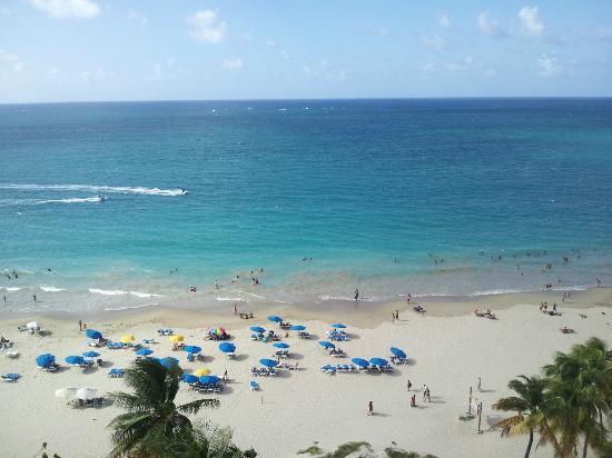 San Juan Water Beach Club Hotel Rooftop View