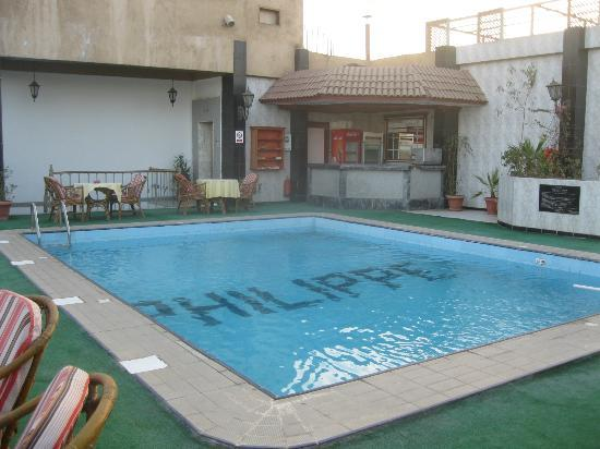 Philippe Hotel: The rooftop pool.