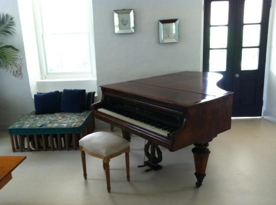 Squires Estate: toads hall piano
