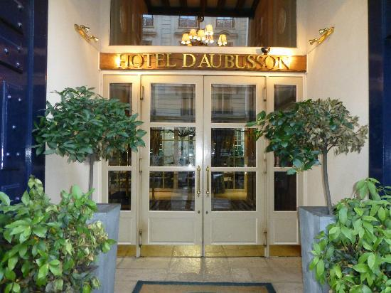 Hotel d'Aubusson: Front of the hotel