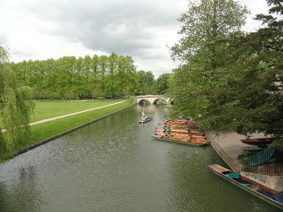 The River Cam : Tirada de uma ponte