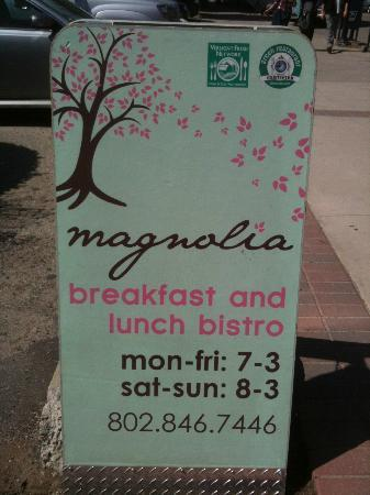 Magnolia: Sign to draw you in