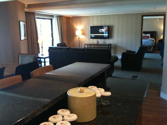 Red Lion Hotel on the River: Living room of Suite