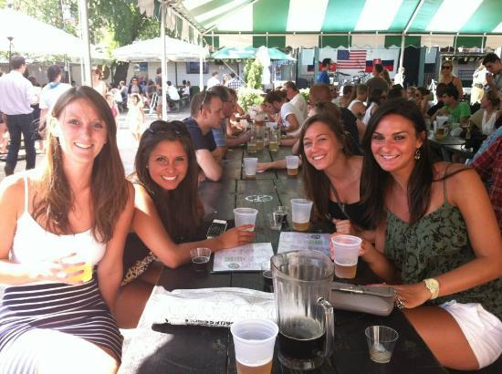 The New York Beer and Brewery Tour : Bohemian Beer Garden in Astoria