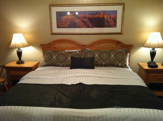 Wyndham Flagstaff Resort: Unit A Master Bed