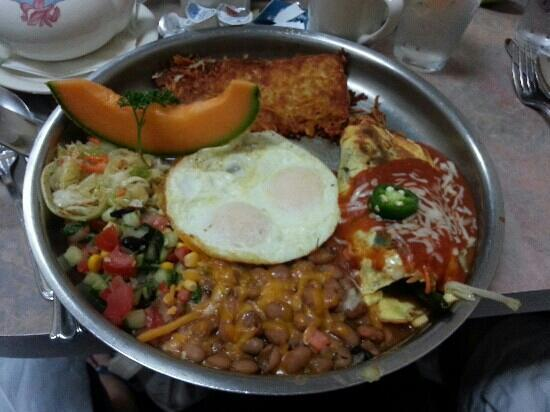 Chile Relleno breakfast - Picture of Peg's Glorified Ham n Eggs ...
