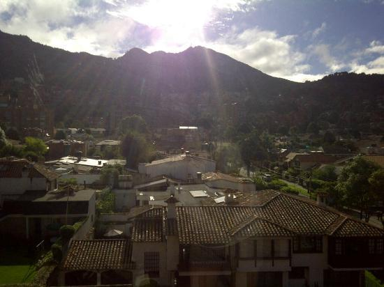 NH Collection Bogota Hacienda Royal: The view from my room