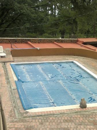 Casa Maria Hosteria: piscina cubierta esta vez. Hacía frio