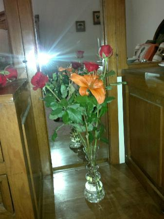 Casa Maria Hosteria: las flores del aniversario