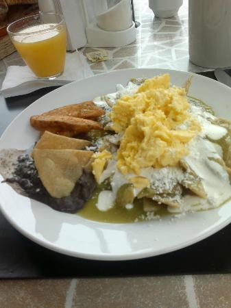Casa Maria Hosteria: el desayuno incluído. Te dan al menos tres opciones