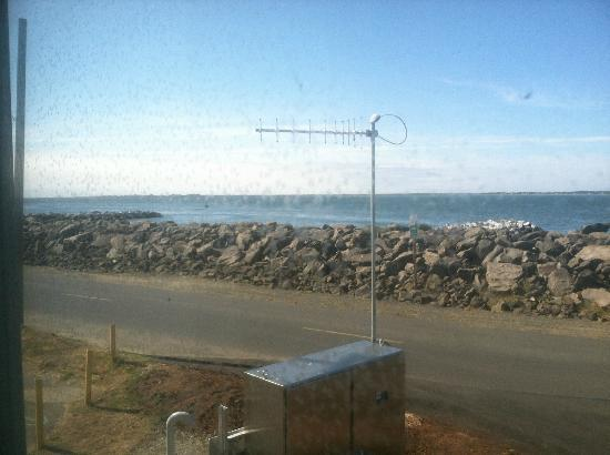 The Islander Motel & RV Park: view from our room
