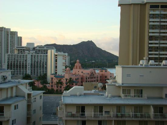 View Of Diamond Head From Our Balcony Picture Of Embassy