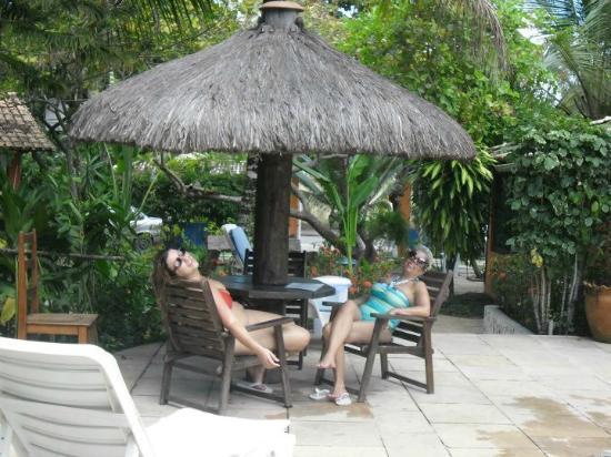 Pousada Agua Marinha: área da piscina