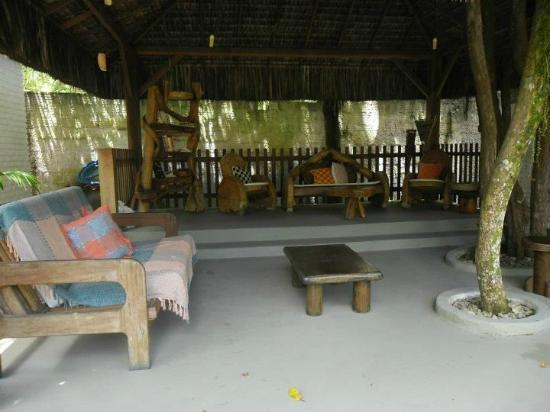 Pousada Agua Marinha: espaço para descanso, jogos e leitura