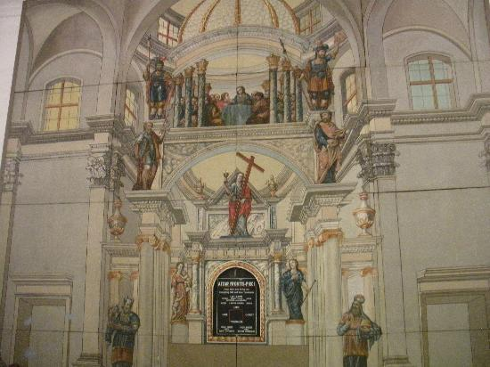 Mission Dolores: Picture inside chapel
