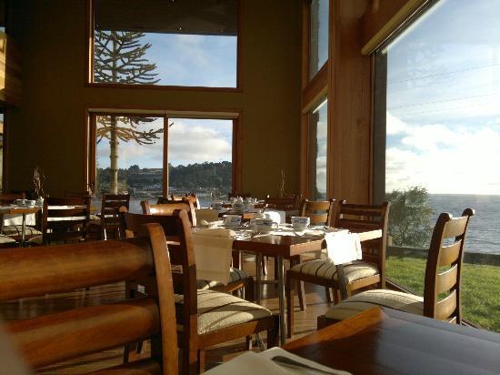 Cumbres del Lago: Vista desde Restaurant